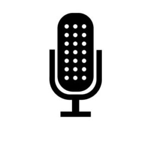 pictogramme microphone